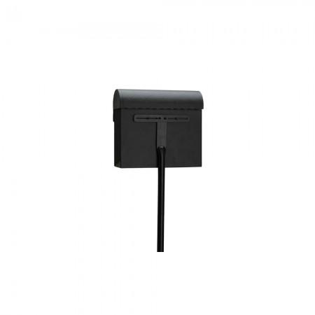 Briefkasten Stab schwarz