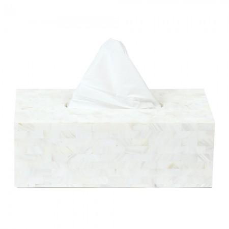 Kleenexbox Pure White