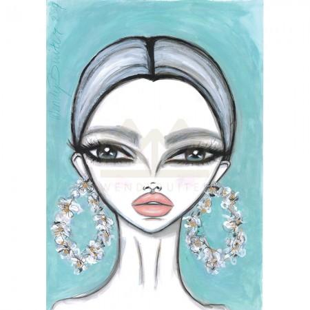 Almond Blossom Earrings
