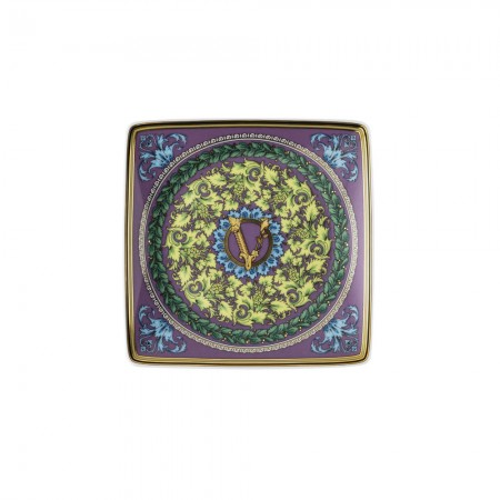 Versace Baroque Mosaic Bowl 12cm Square Flat