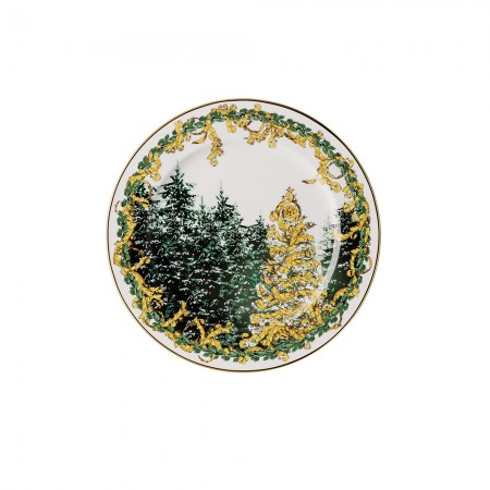A Winter's Night Christmas plate