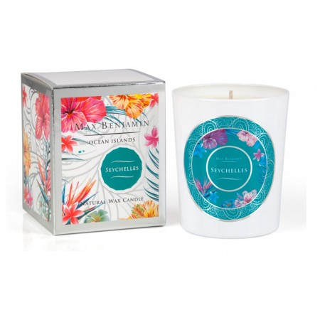 Ocean Islands Seychelles Candle
