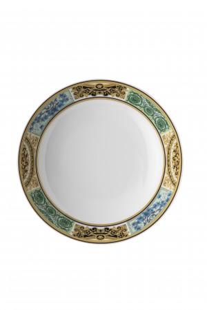 Versace Baroque Mosaic Plate Deep 22cm