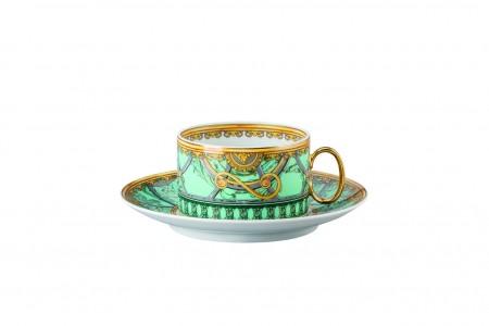 Versace Scala del Palazzo Verde cup & sauser 4 low