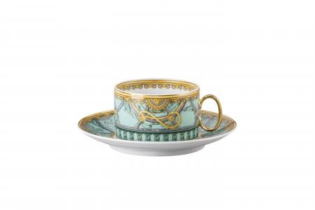 Versace Scala del Palazzo Verde - Cup & Saucer set 2 pcs.