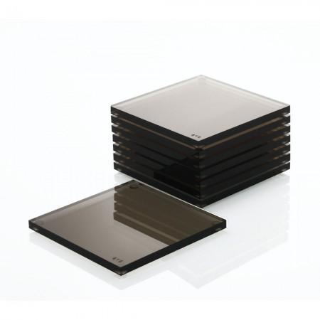 AVF Acrylic Coasters 8-Pack Bronze