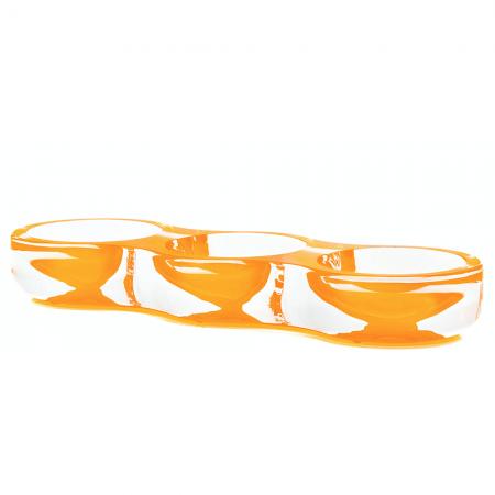 AVF Acrylic Tamarin Bowl Orange