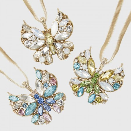 Butterfly Hanging Ornaments Set of Three