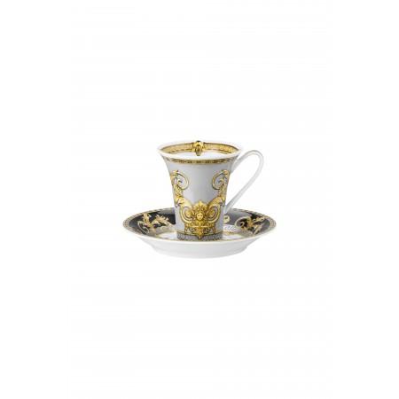 Versace Prestige Gala Espresso Cup & Saucer set 2 pcs.