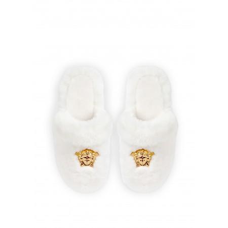 LOGOMANIA Slippers - WHITE