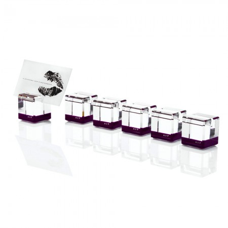 AVF Acrylic Rock Blocks Amethyst