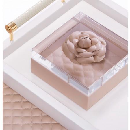 Camelia box S blush pink