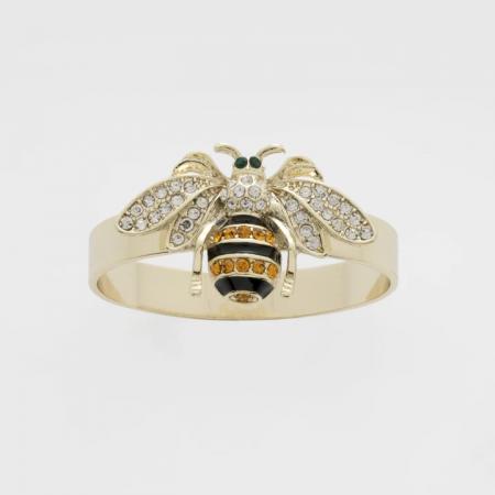 Skinny Stripey Bee Napkin Rings