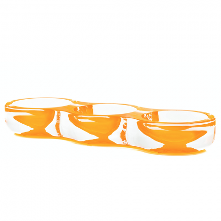 AVF Acrylic Tamarin Bowl Orange