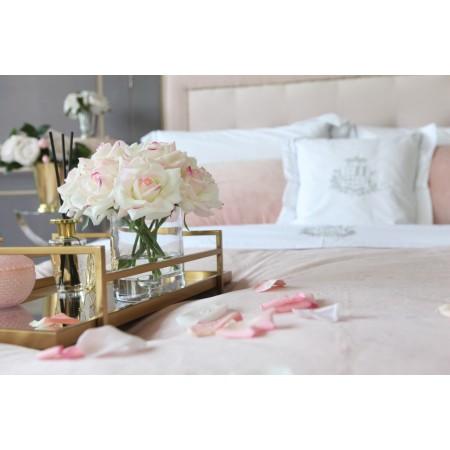 Grand Rose Bouquet Pink Blush