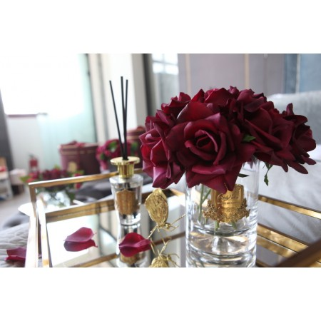 Grand Rose Bouquet CARMINE RED