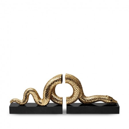 Snake Bookend Set (2 Piece Set)
