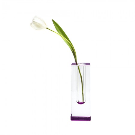 AVF Acrylic Bloomin' Vase Amethyst